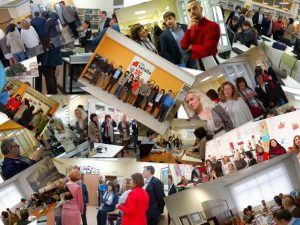 Collage del primer encuentro transnacional AEJO